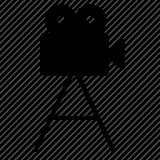 camera, cinema, film, operator icon