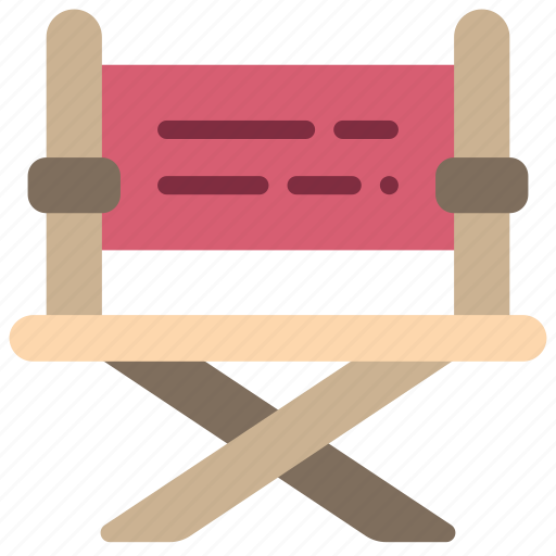 Chair, cinema, directors, film, movie, movies icon - Download on Iconfinder