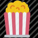 cinema, corn, film, movie, movies, pop
