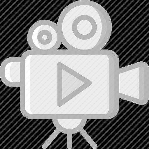 camera, cinema, film, movie, movies, play icon