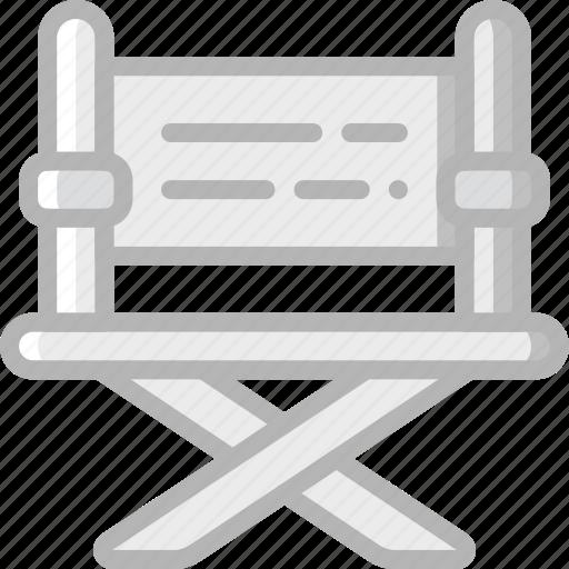 chair, cinema, directors, film, movie, movies icon