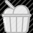 cinema, cream, film, ice, movie, movies icon