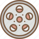 cinema, film, movie, movies, reel icon