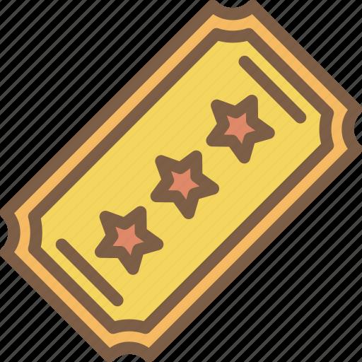 cinema, film, movie, movies, ticket icon