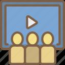 audience, cinema, film, movie, movies
