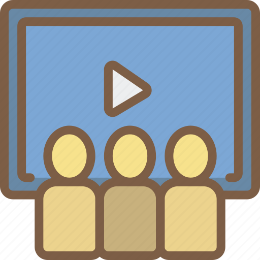 Audience, cinema, film, movie, movies icon - Download on Iconfinder