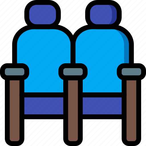 Cinema, film, movie, movies, seats icon - Download on Iconfinder