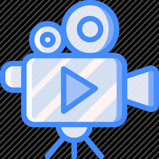 Camera, cinema, film, movie, movies, play icon - Download on Iconfinder