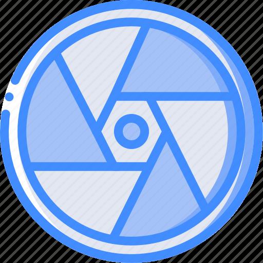 Aperture, cinema, film, lens, movie, movies icon - Download on Iconfinder