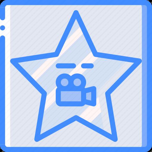 cinema, film, hollywood, movie, movies, star icon