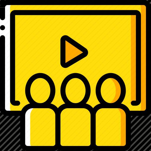 audience, cinema, film, movie, movies icon