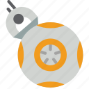 bb, film, movie, movies, star wars icon