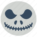film, jack, movie, movies, skelenton icon