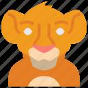 film, lion king, movie, movies, simba icon