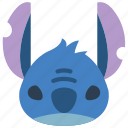 cinema, film, movie, movies, stitch icon