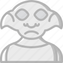 dobby, film, harry potter, movie, movies icon