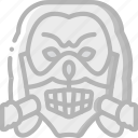 cinema, film, mask, movie, movies, skull icon
