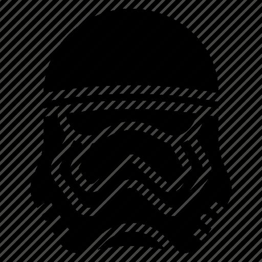 Film, movie, movies, star wars, storm, trooper icon - Download on Iconfinder
