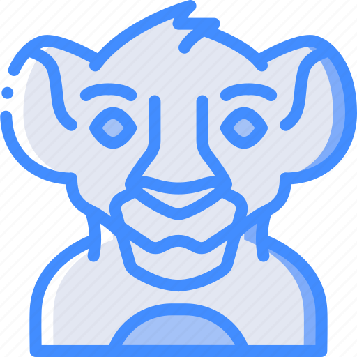 Cinema, film, movie, movies, simba icon - Download on Iconfinder