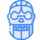 cinema, film, movie, movies, skeltron icon