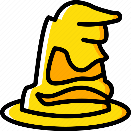 film, harry potter, hat, movie, movies, sorting icon