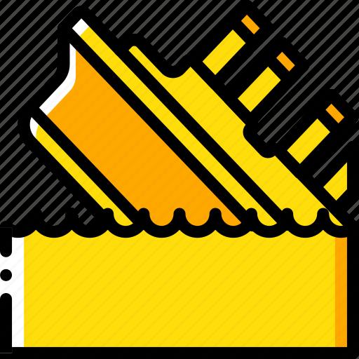 Cinema, film, movie, movies, titanic icon - Download on Iconfinder
