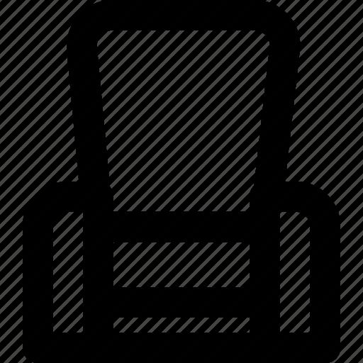 chair, cinema, film, movie, video, vip icon