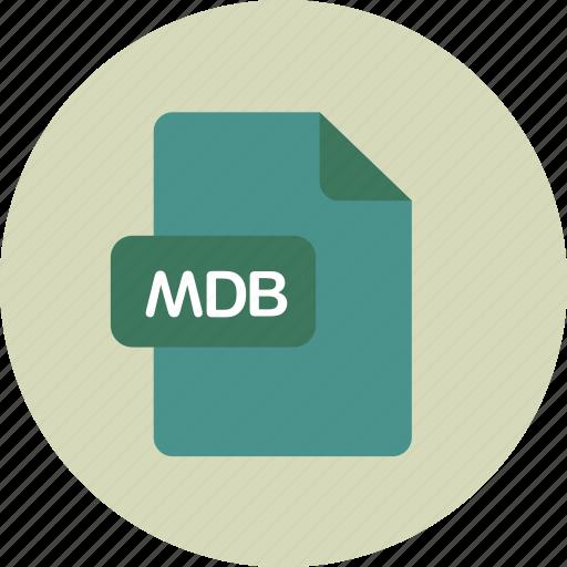 database, db, mdb, msdb icon