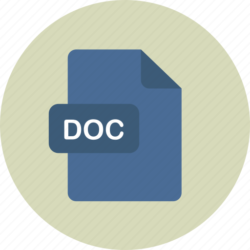 doc, documentfile, msdoc, word icon