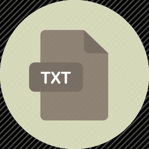 file, microsoft, text, txt icon
