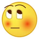 blushing, blush, msn messenger, shy, windows live messenger, msn, red cheeks icon