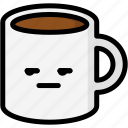 annoying, emoji, emotion, expression, face, feeling, mug icon