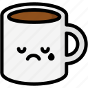 cry, emoji, emotion, expression, face, feeling, mug icon