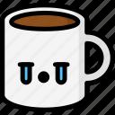 cry, emoji, emotion, expression, face, feeling, mug icon
