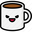 emoji, emotion, evil, expression, face, feeling, mug icon
