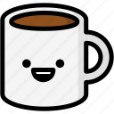 emoji, emotion, expression, face, feeling, happy, mug icon