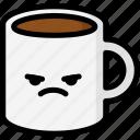 emoji, emotion, expression, face, feeling, mad, mug icon