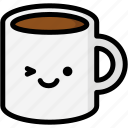 emoji, emotion, expression, face, feeling, mug, smile icon