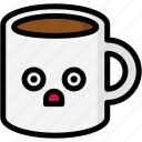 emoji, emotion, expression, face, feeling, mug, stunning icon