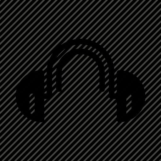 headphone, headset, multimedia icon