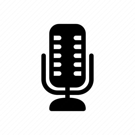 microphone, multimedia, voice icon