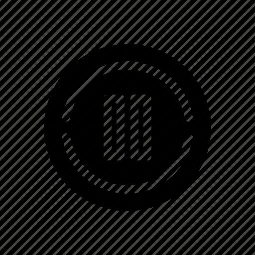multimedia, pause icon