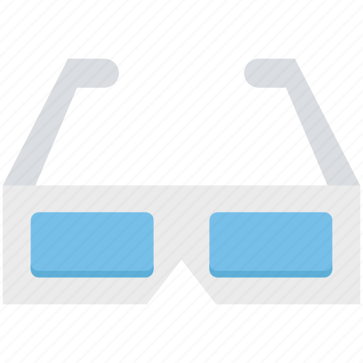 eyewear, glasses, stereo glasses, stereoscopic glasses icon