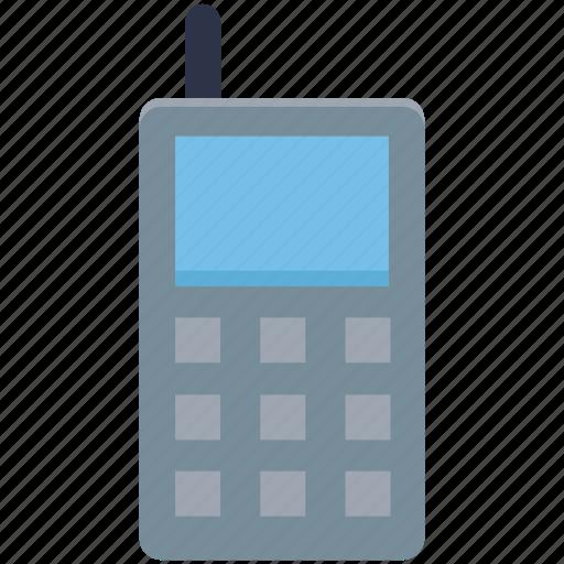 cordless phone, intercom, police radio, radio transceiver, walkie talkie icon
