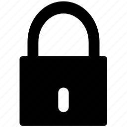 lock, locked, padlock, protection, secure, security icon