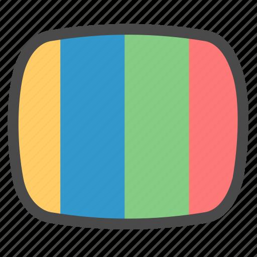 media, ntsc, pal icon