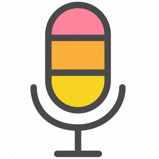 microphone, record, recording, records, voice icon