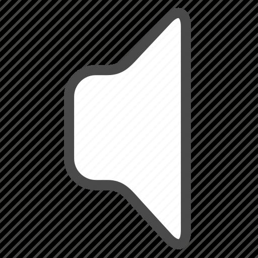 mute, sound, speaker, volume icon