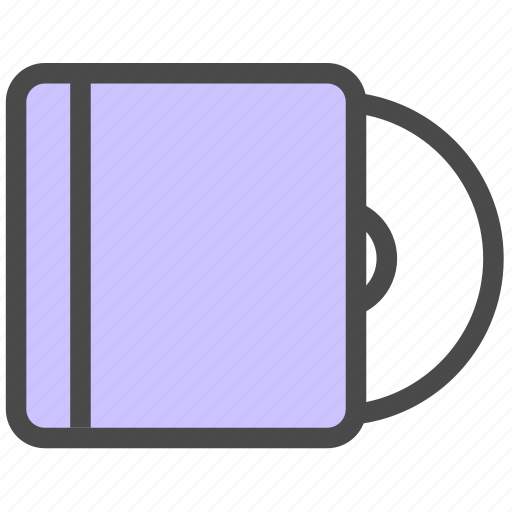 cd, cover, disk icon