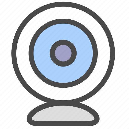 camera, record, surveillance icon
